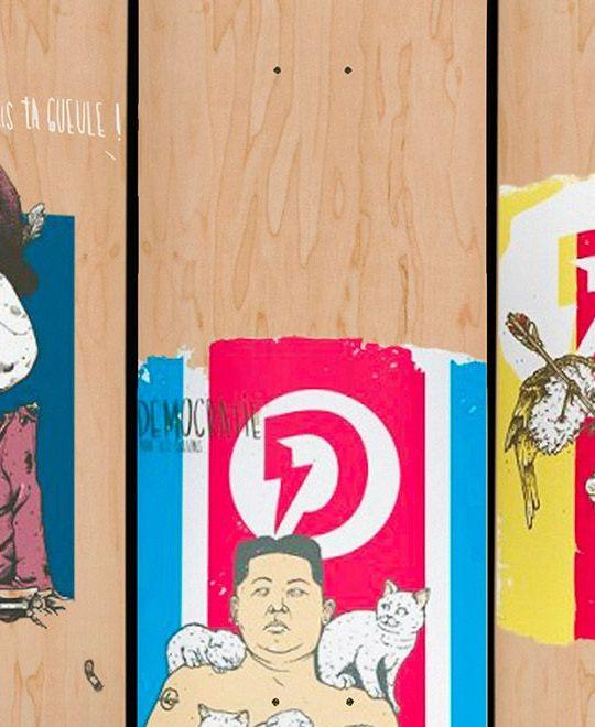 Lo Series 2020 By Laurent Claveau Doble Skateboards