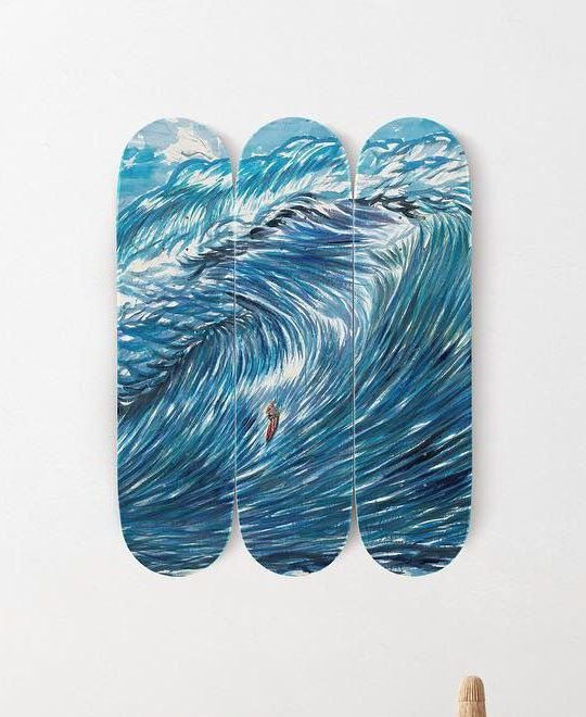 No Title You Have A Clear Skateboard Par Raymond Pettibon X The Skateroom 1