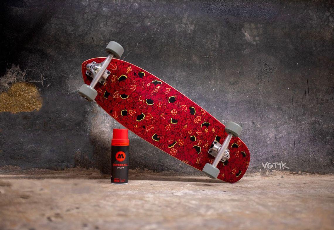 Noir De Rouge Custom Board Par Pierre Guillonneau 4