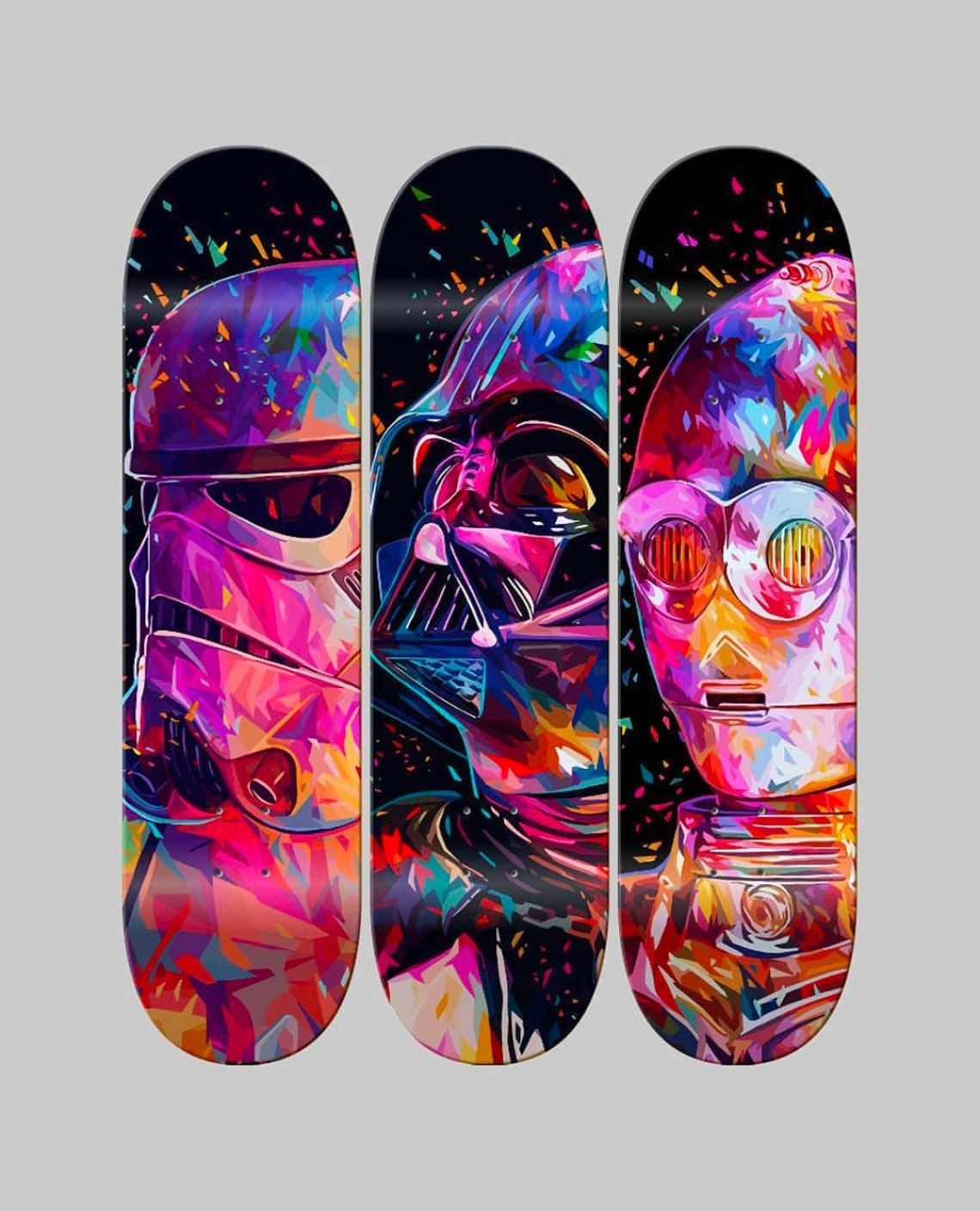 Droid Father Soldier Skateboards By Kaneda X Bonobolabo 1