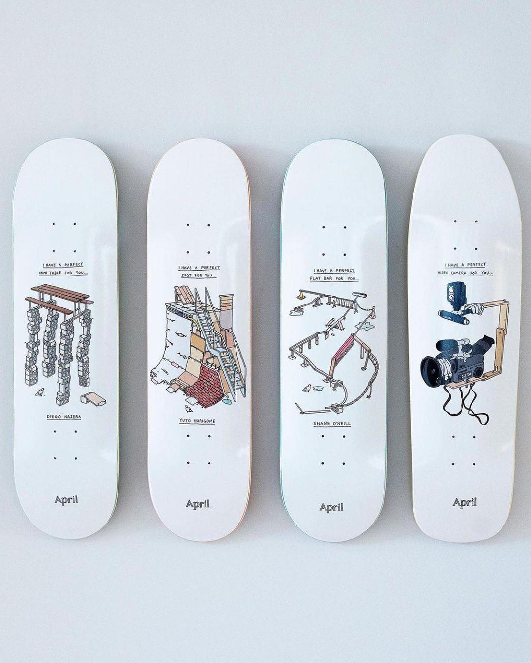 Perfect Spots Series By Brother Merle X April Skateboards 5