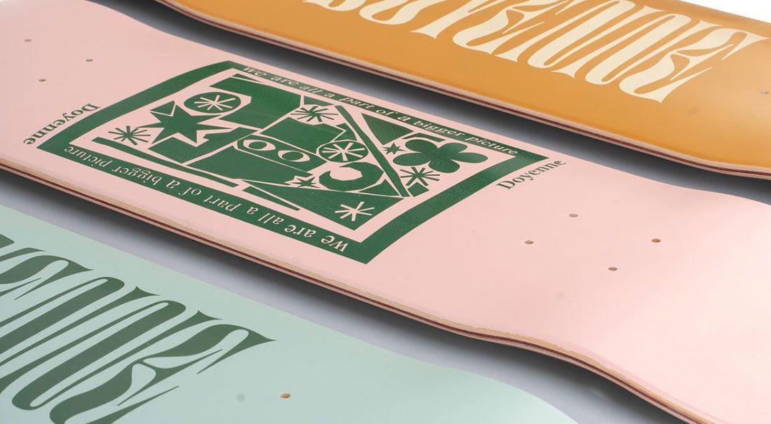 Sophie J Morrisons X Doyenne Skateboards