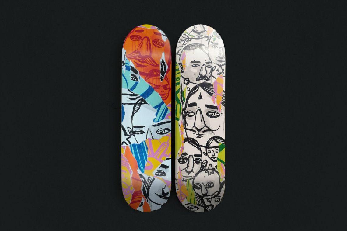 Unique 1 And 2 Skateboards By Sea Creative Bonobolabo