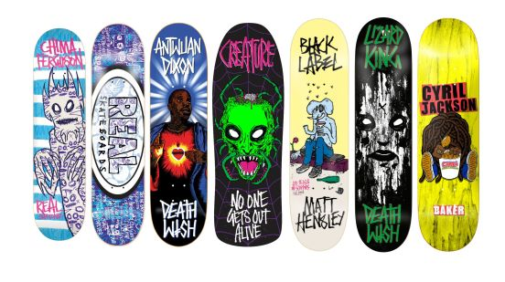 Mark Fos Foster Skateboard Graphics 1
