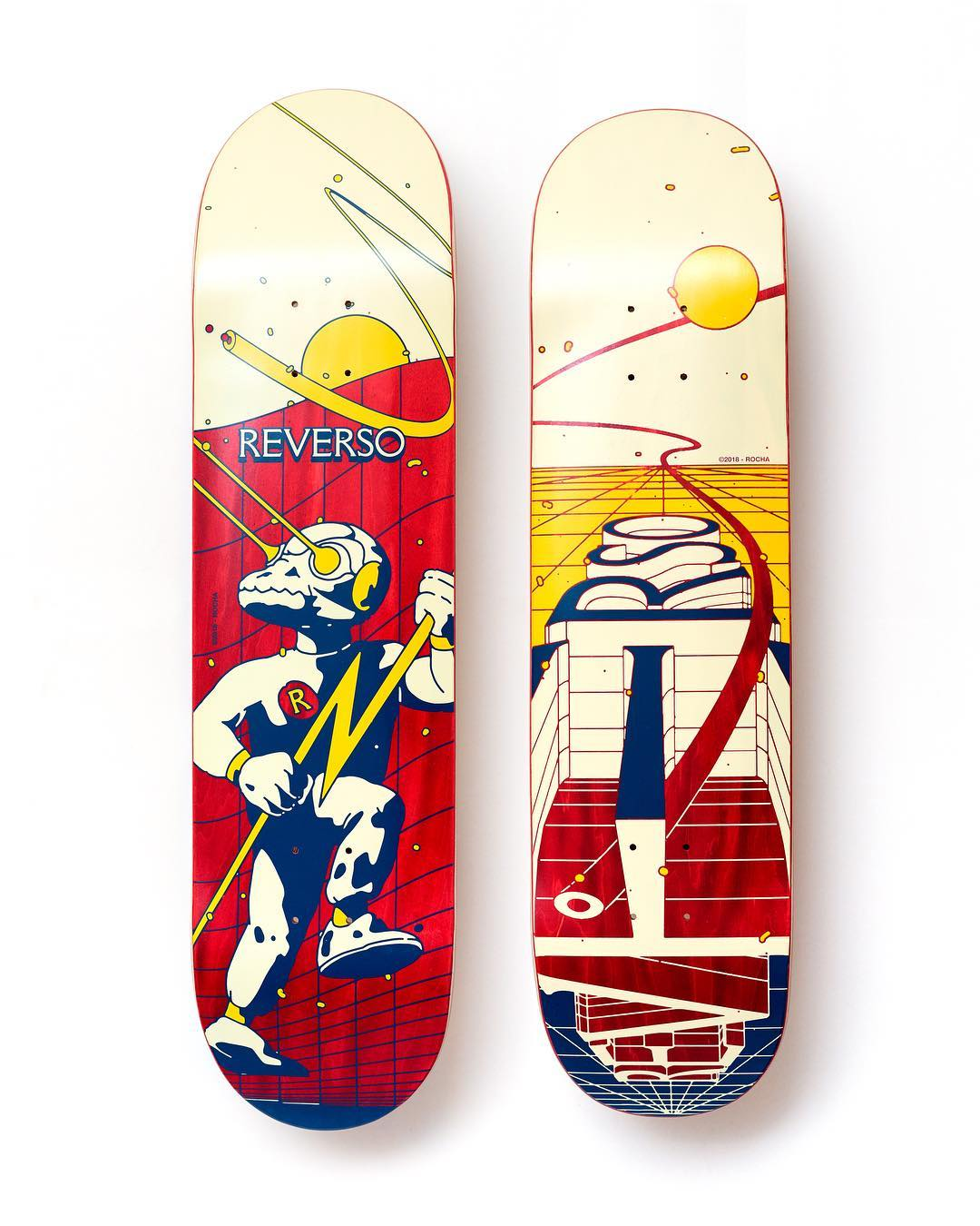 Recoil And Engage By David Rocha X Reverso Skateboards 4