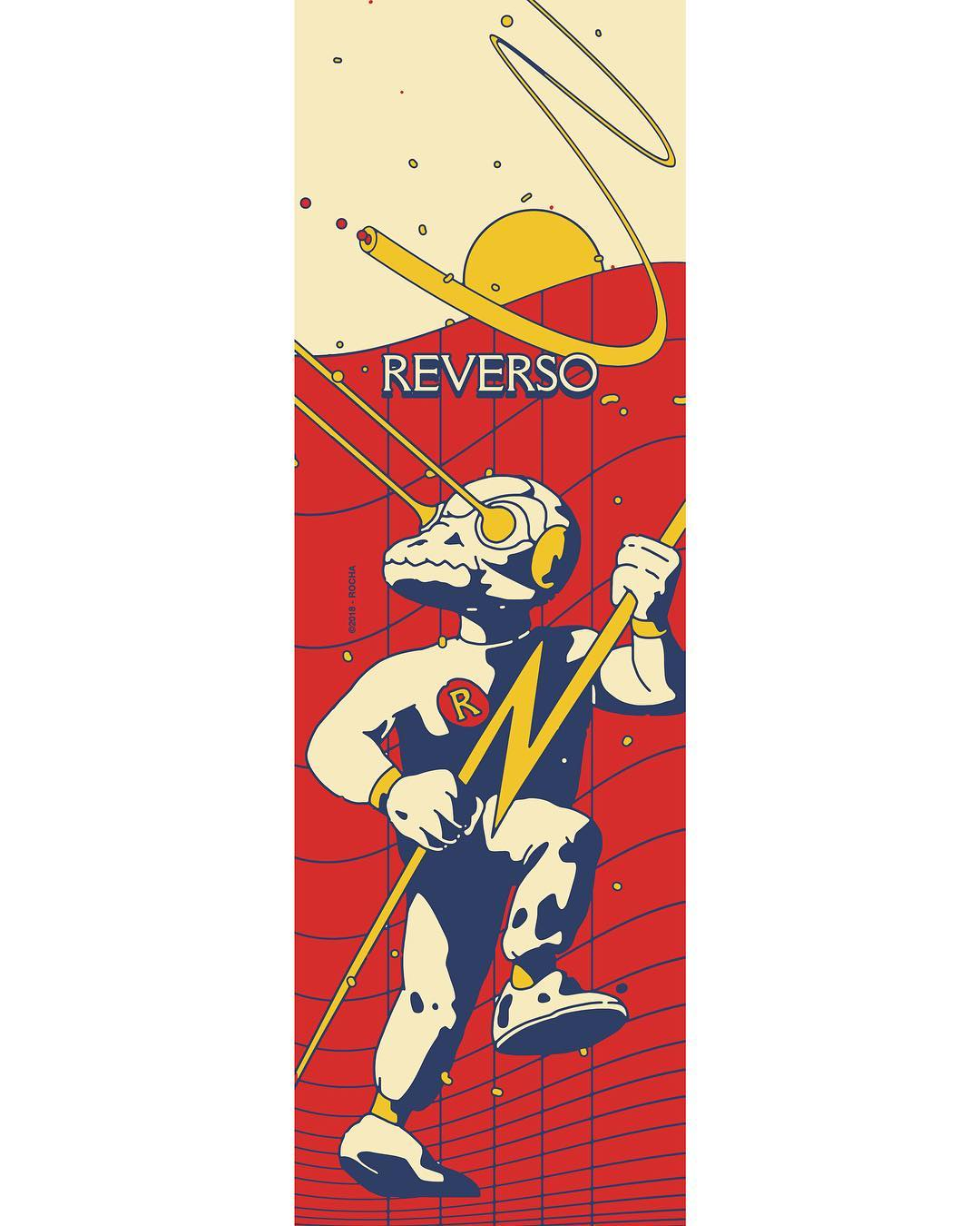 Recoil And Engage By David Rocha X Reverso Skateboards 6