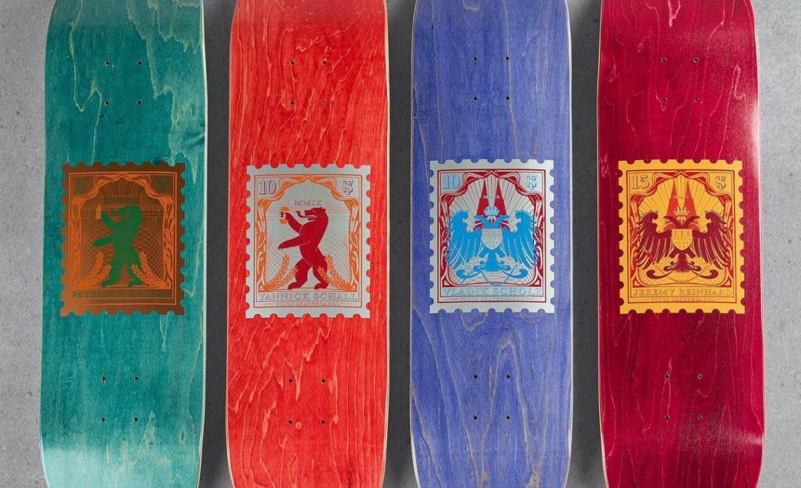 10 YRS Series Par Vast Studio X Titus Skateboards 4