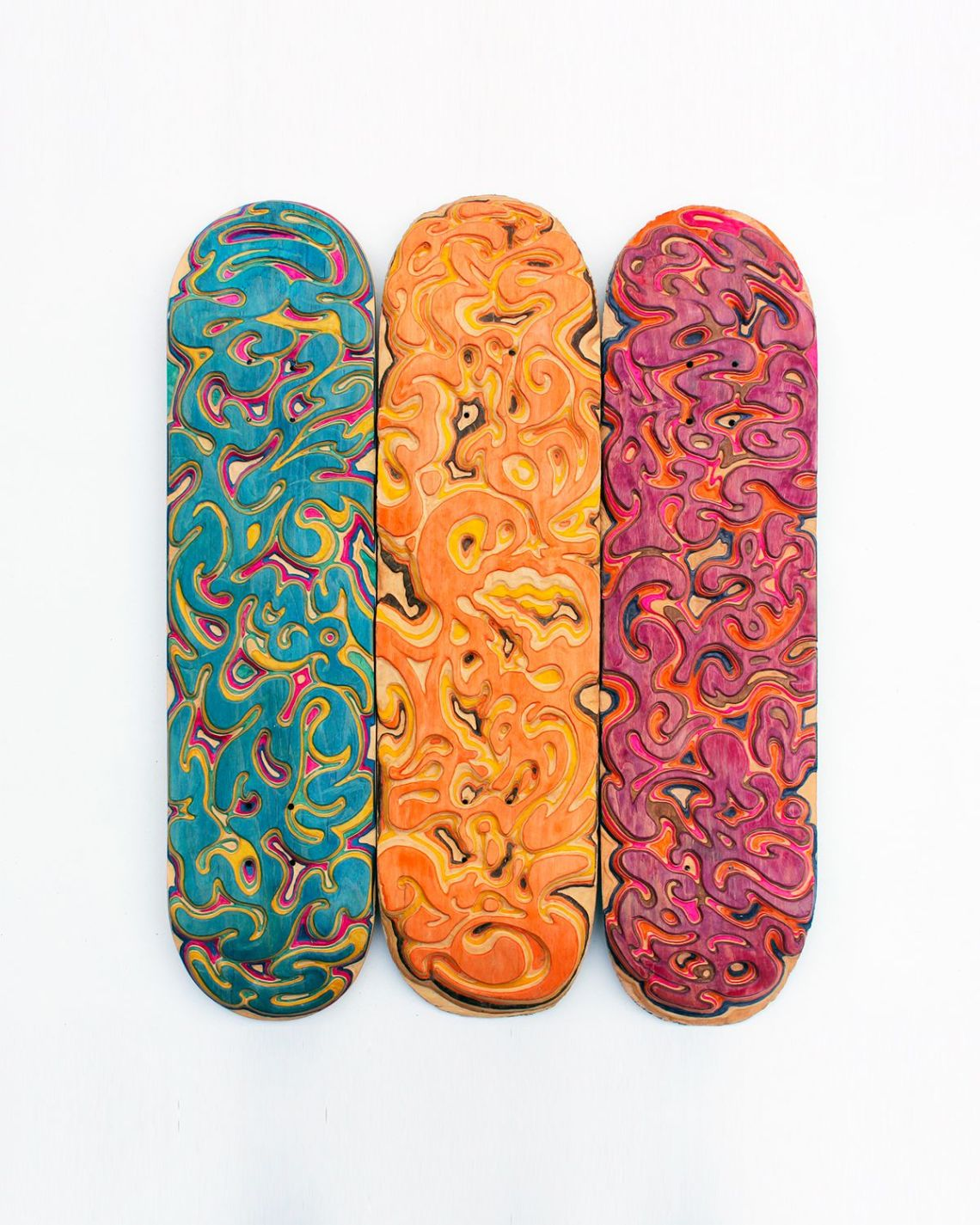 Carving Custom Skateboards By Tom Le Maitre 7