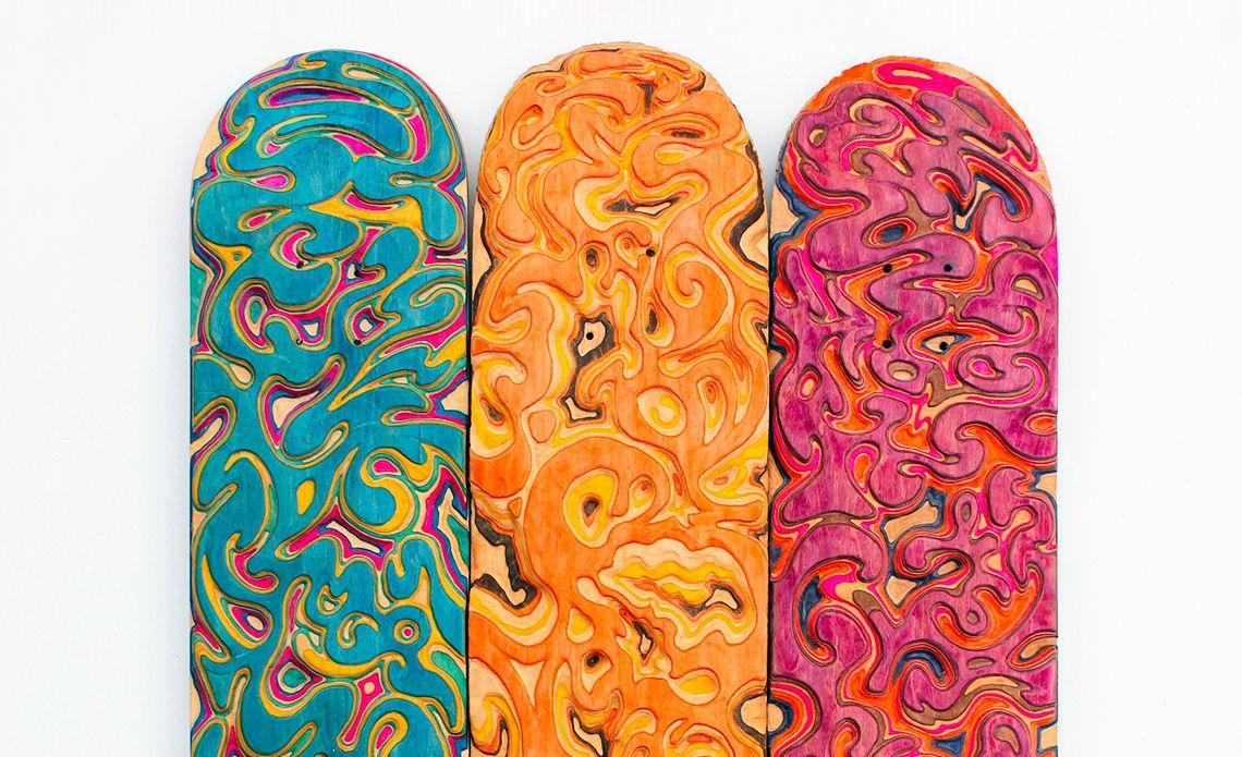 Carving Custom Skateboards By Tom Le Maitre