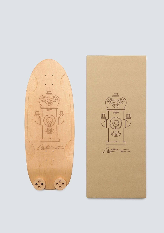 Haroshi X Tendo Mokko Skateboard Deck 15
