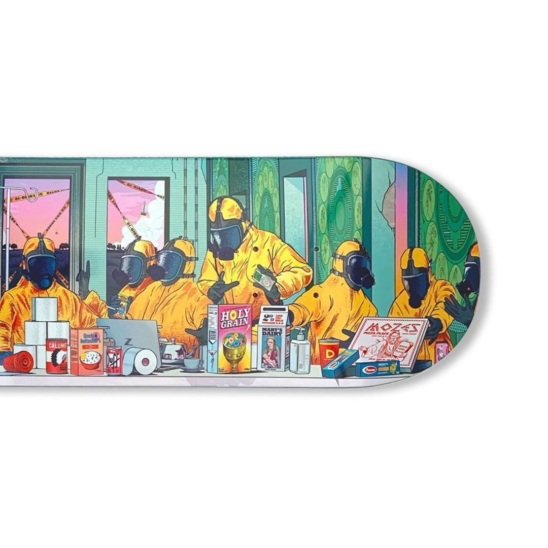 The Last Supper Skateboard By Musketon 4