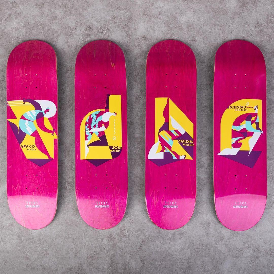 Aerobic Series Par Fzchiedric X Titus Skateboards3