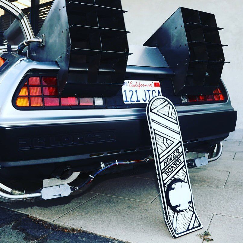 Back To The Future Hoverboard Par Joshua Vides X 3d Retro.2