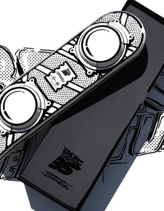 Back To The Future Hoverboard Par Joshua Vides X 3d Retro.8