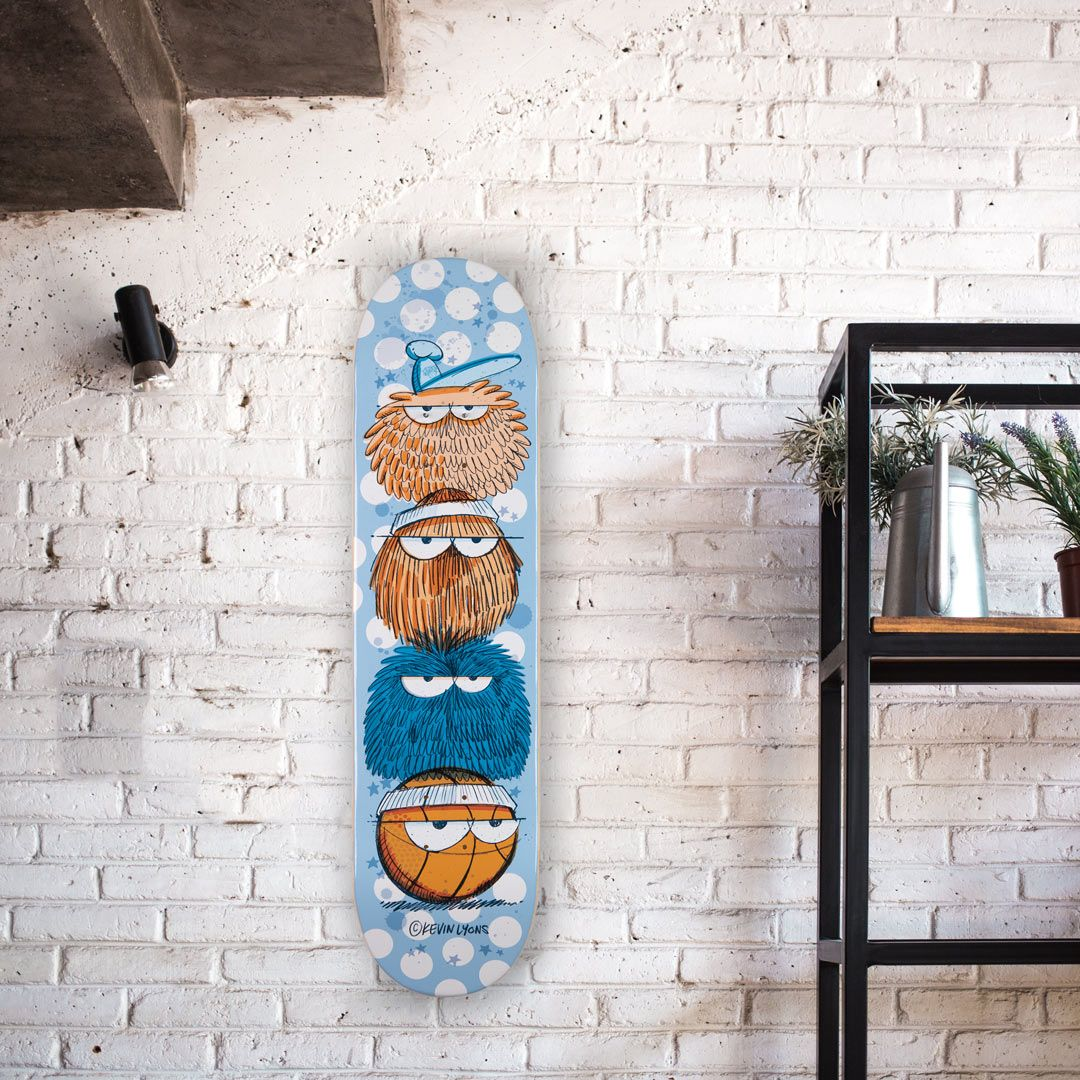 Kevin Lyons X 1xrun Skateboard Decks 2