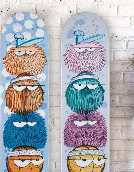 Kevin Lyons X 1xrun Skateboard Decks
