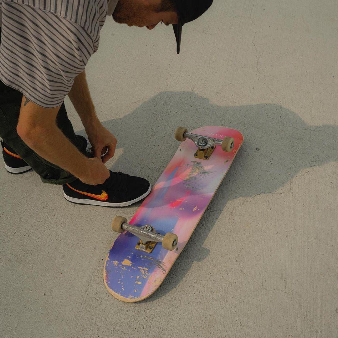 Klimasks Skate Par Kristine Moen X Sovrn Skateboards.2