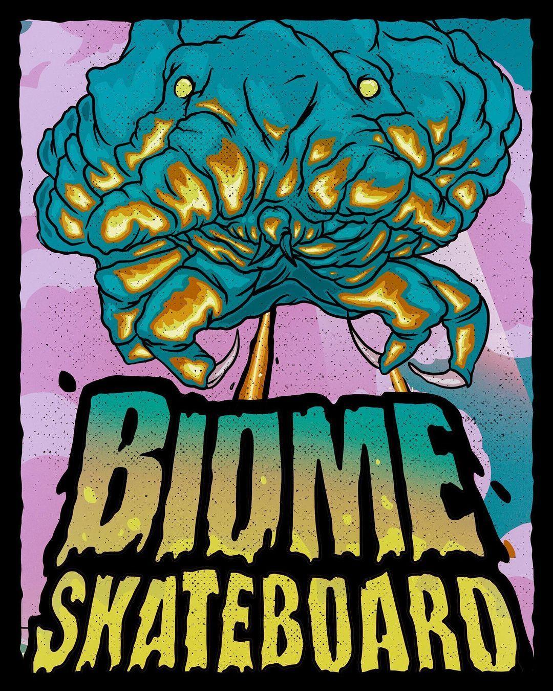 Micro Monstres Series By Skorp X Biome Skateboards.2