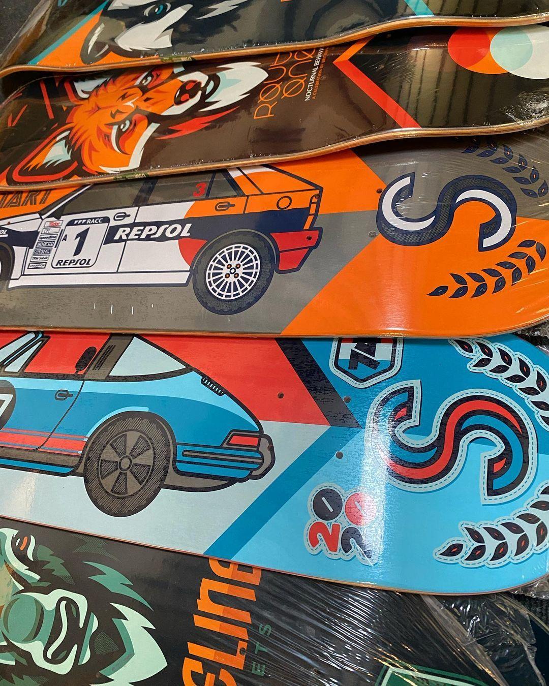 Streetart X Jono Wood Skateboard Decks 1