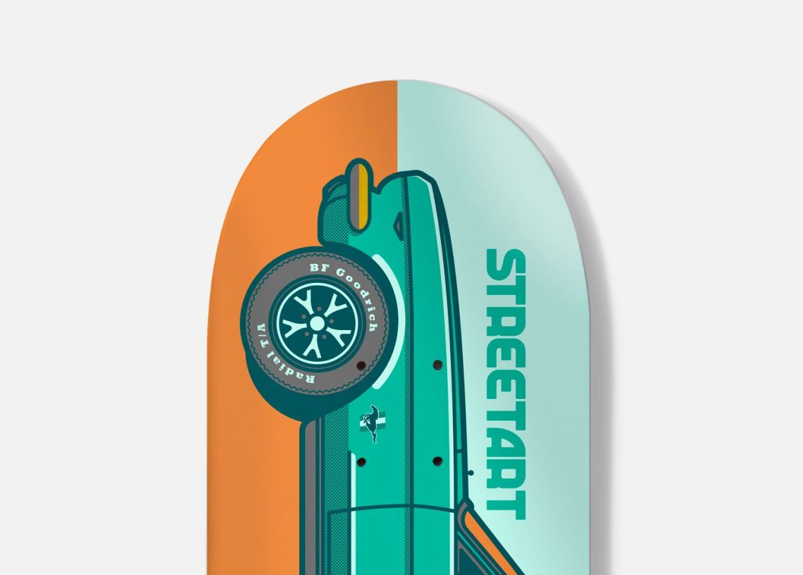 Streetart X Jono Wood Skateboard Decks 5