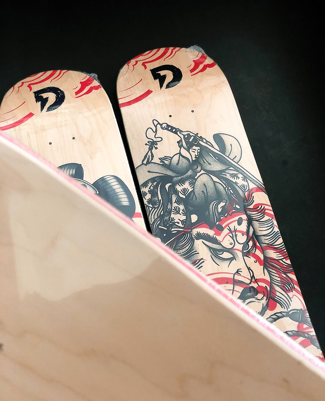 Geisha Series By Plot X Doble Skateboards 3