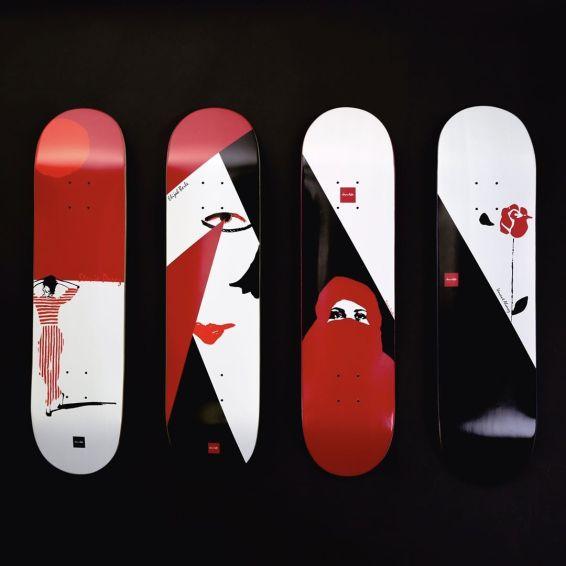 Palette Series CMG Chocolate Skateboards