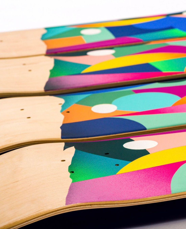 Apercu Des Skateboards De La Nouvelle Edition SPRAYING BOARD 13
