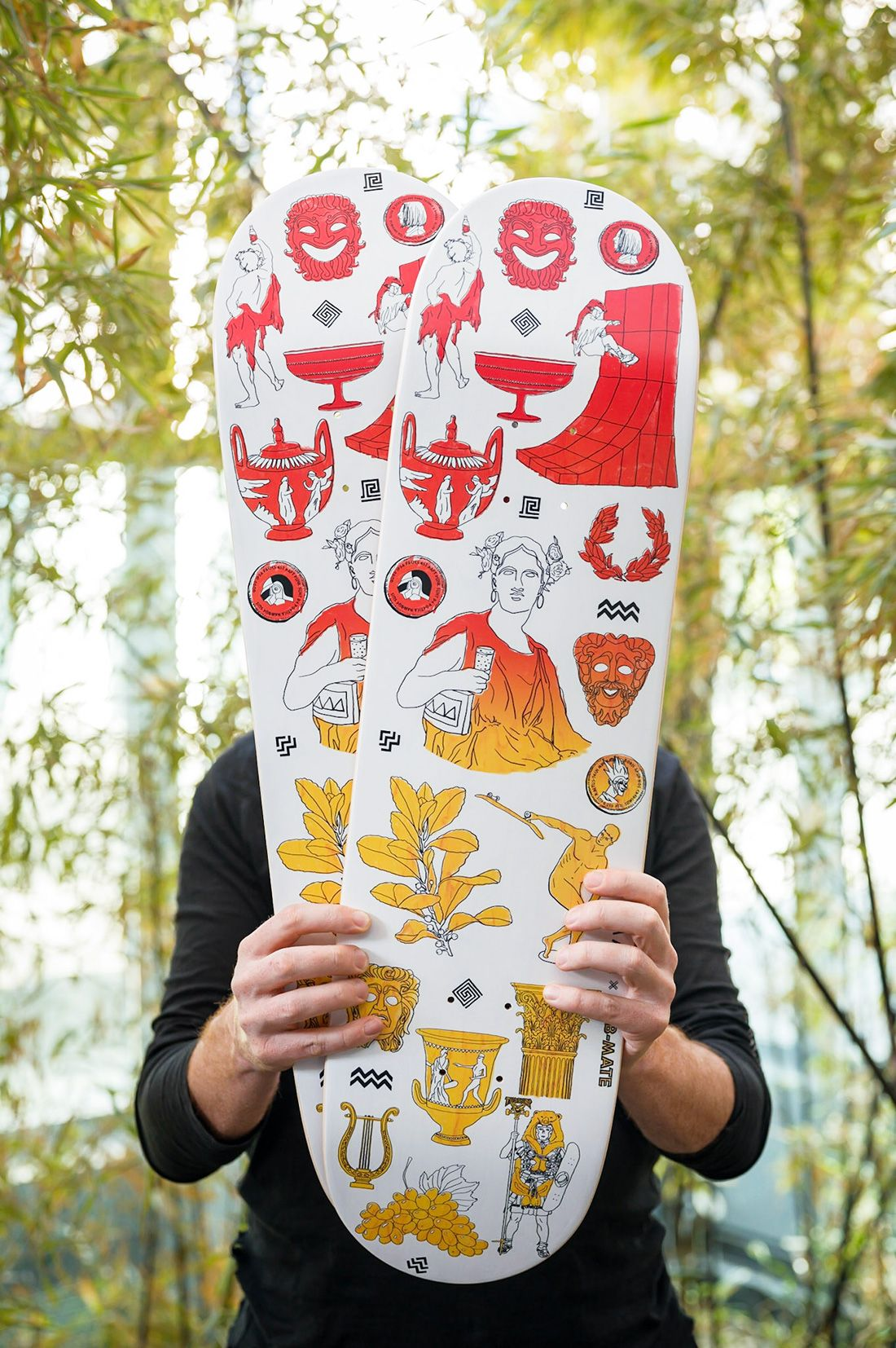 Clubmate X RomAvJC X The Daily Board Skateboard 11