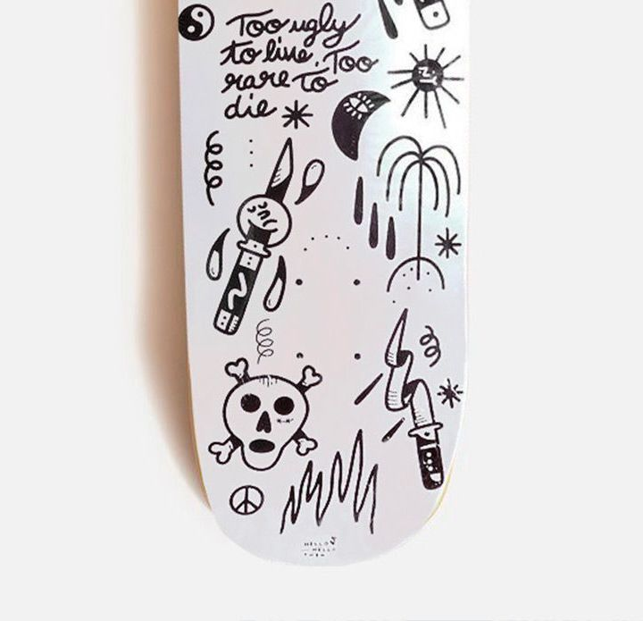 Hello Hello Theo X Doble Skateboards 1