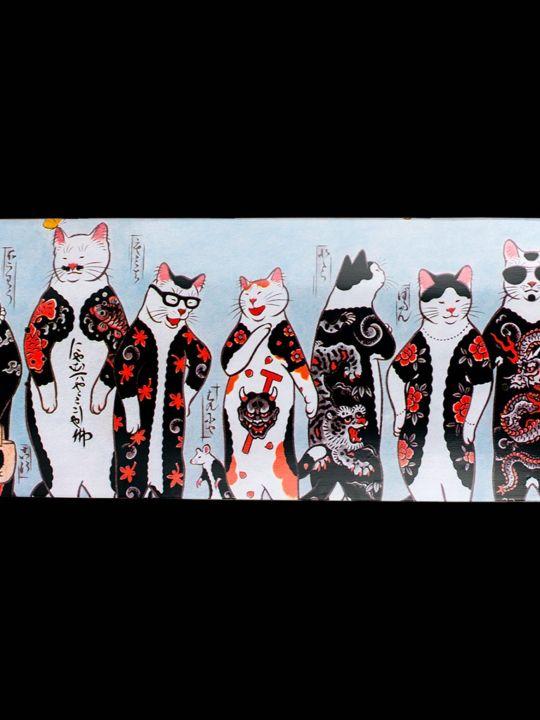 Gang Cat Skateboard Byhoritomo For Monmon Cats 4