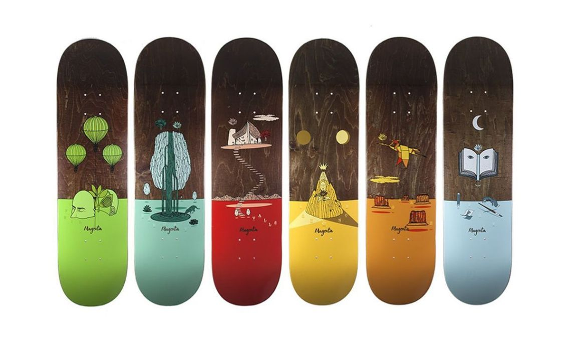 Landscape Series By Soy Panday For Magenta Skateboards 8