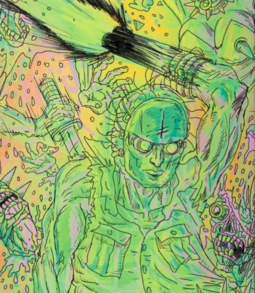 Dystopia Series By Christy Karacas X Deathwish Skateboards 3