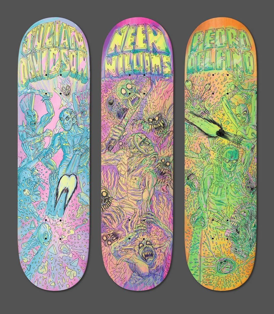 Dystopia Series By Christy Karacas X Deathwish Skateboards 4