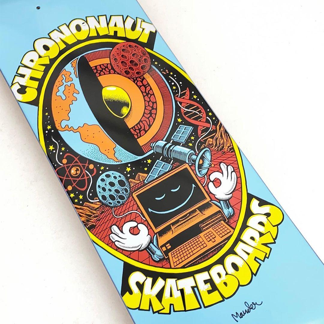 Pegasus Series By Mander X Chrononaut Skateboards 1