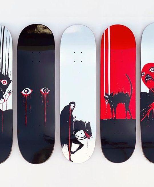 Pitch Canker X Zero Skateboards 15