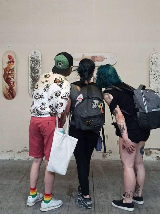 Urbana Skate Exhibition By Bonobolabo In Bologna Italia 4