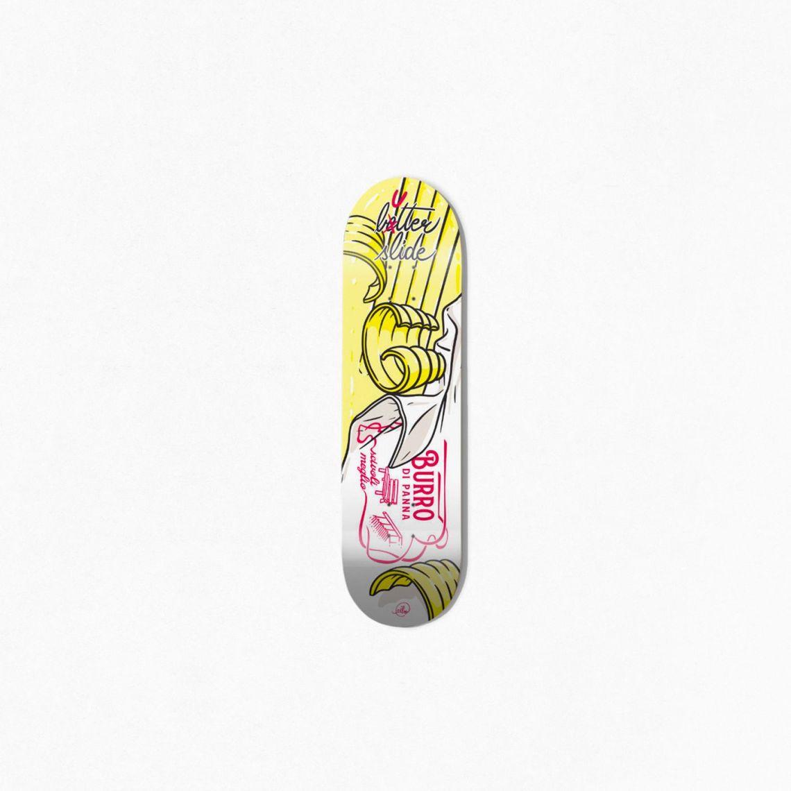 Burro Di Panna Skateboard By Cibo For Bonobolabo 2