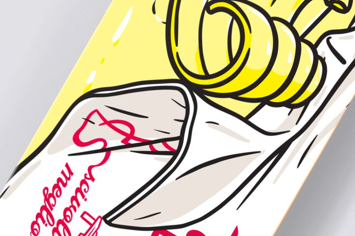 Burro Di Panna Skateboard By Cibo For Bonobolabo 4