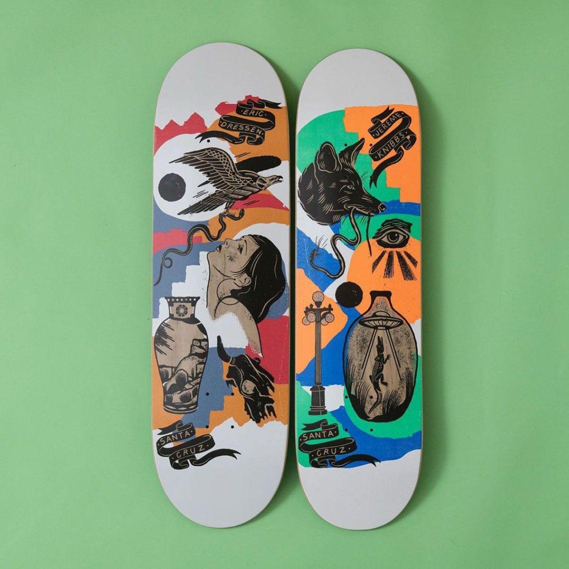 Seekers Series Bys Jess Mudgett For Santa Cruz Skateboards 4