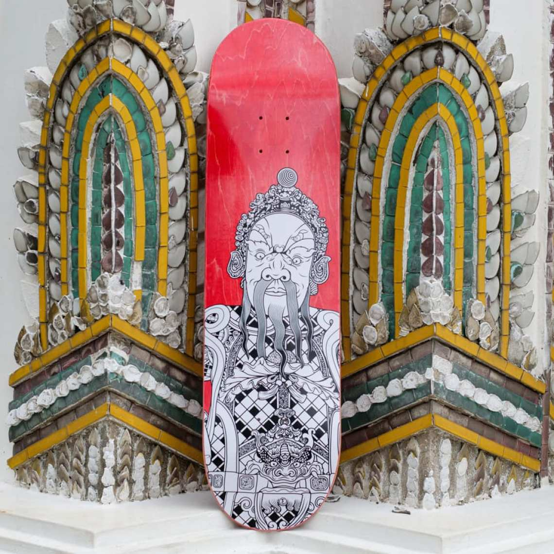 Stone Giants Deck Series By TR For Preduce Skateboards 1