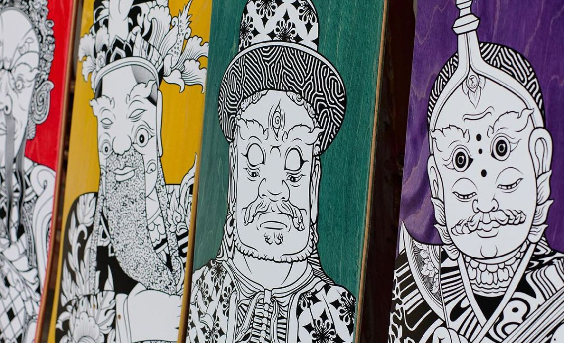 Stone Giants Deck Series By TR For Preduce Skateboards 10