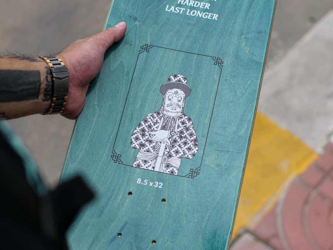 Stone Giants Deck Series By TR For Preduce Skateboards 9