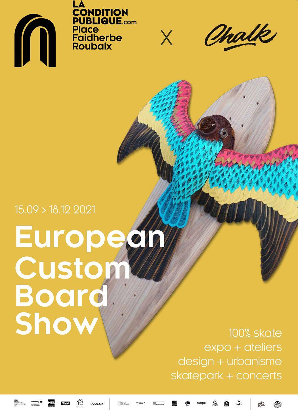 Affiche European Custom Board Show 2021 3