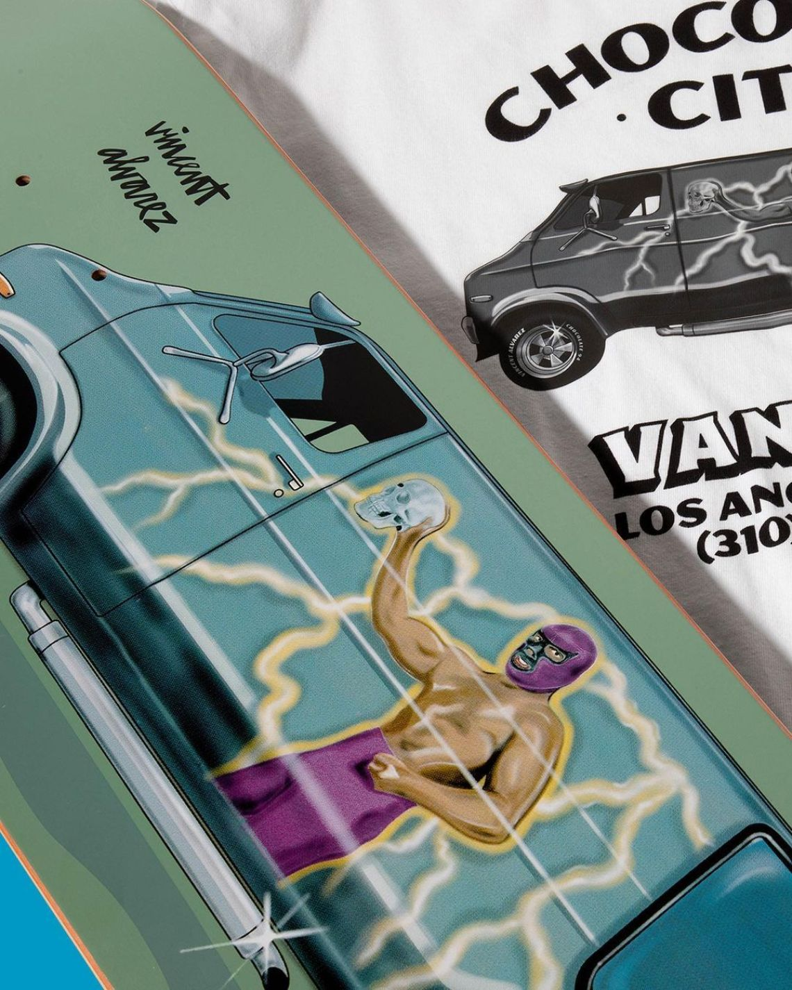 Chocolate City Vanners By Ben Petersen For Chocolate Skateboards 7