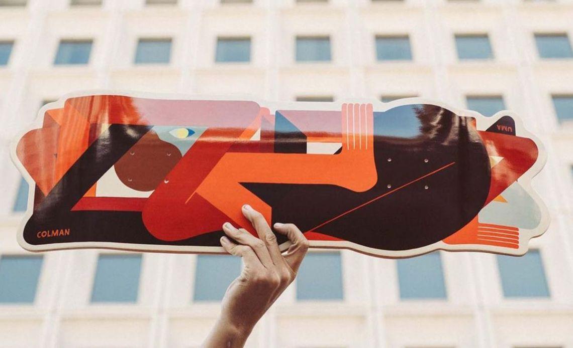 Crazy Special Edition By Richard Colman X Uma Skateboards 1