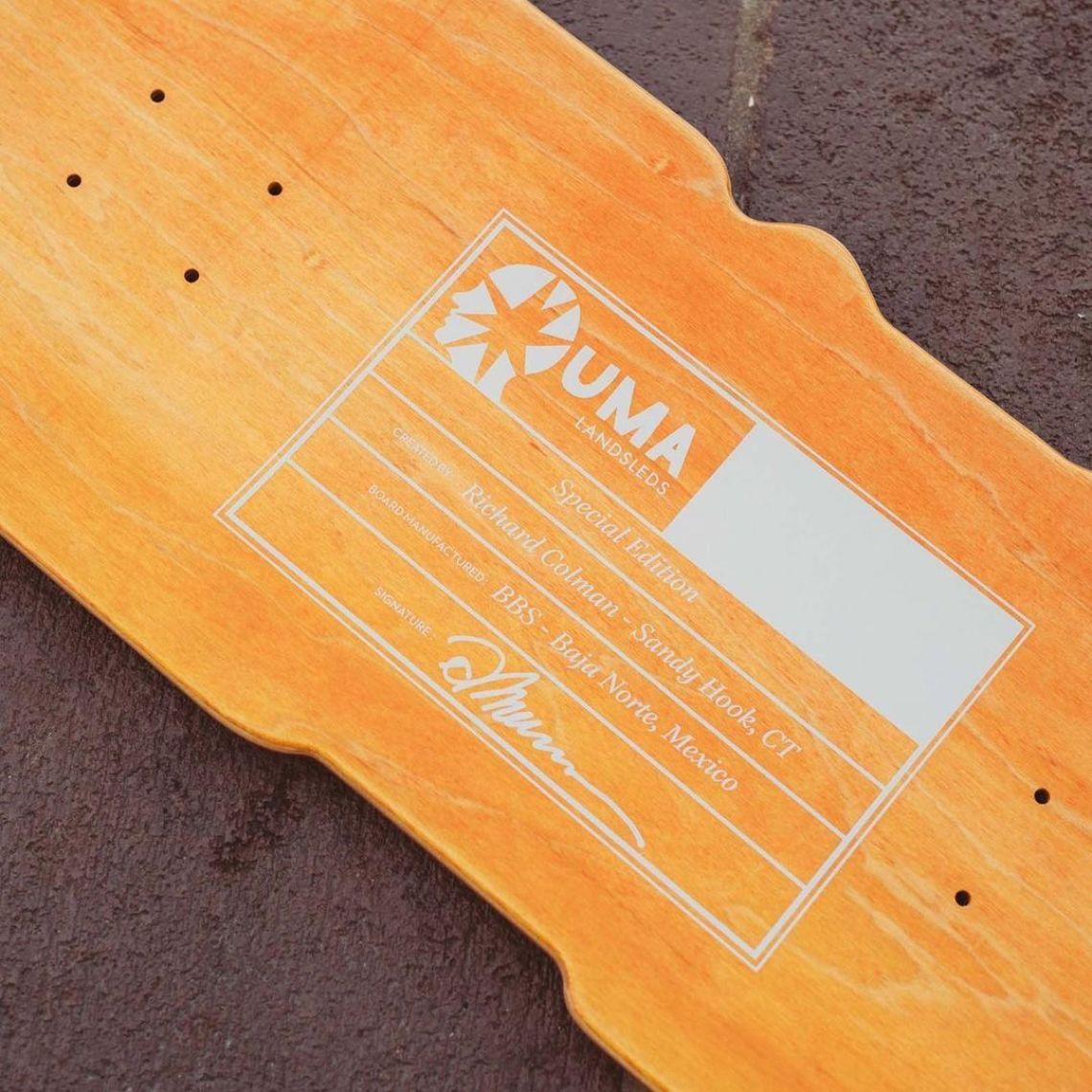 Crazy Special Edition By Richard Colman X Uma Skateboards 3