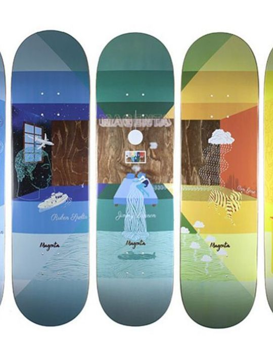 Sleep Board Series By Soy Panday For Magenta Skateboards 1