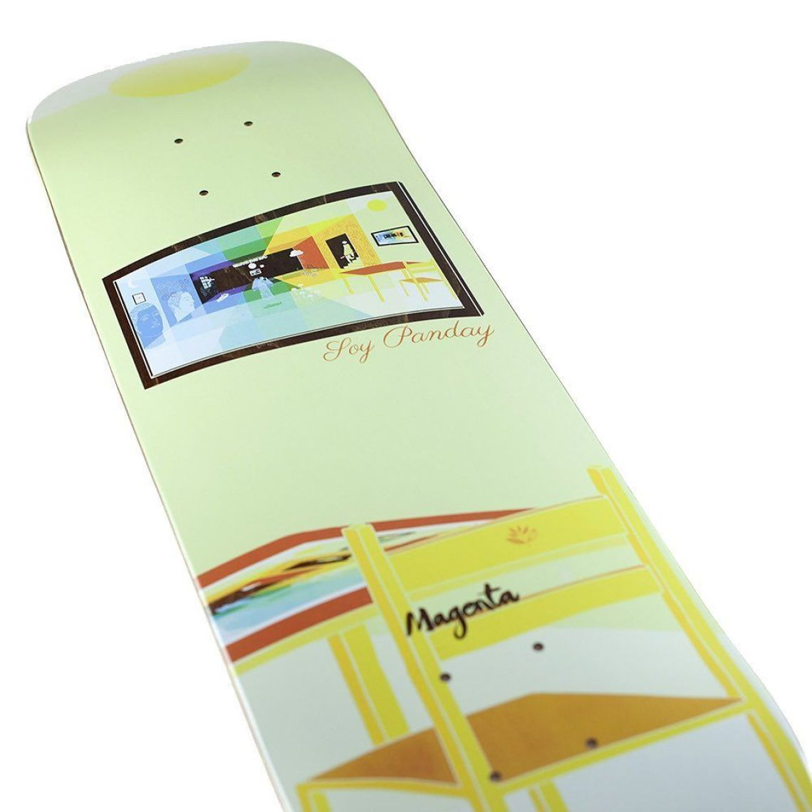 Sleep Board Series By Soy Panday For Magenta Skateboards 2