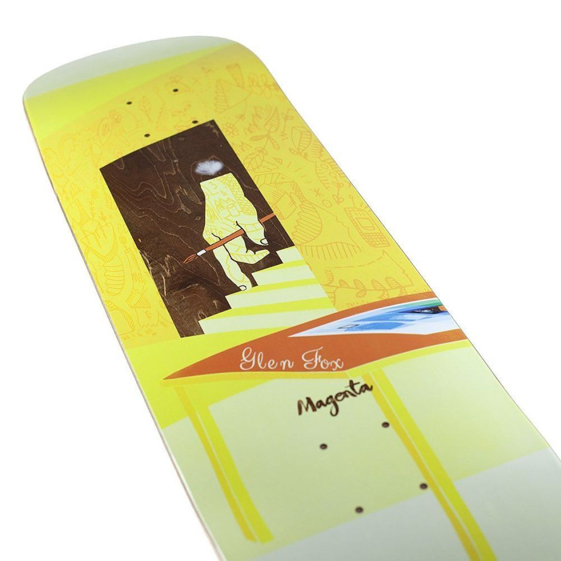 Sleep Board Series By Soy Panday For Magenta Skateboards 3