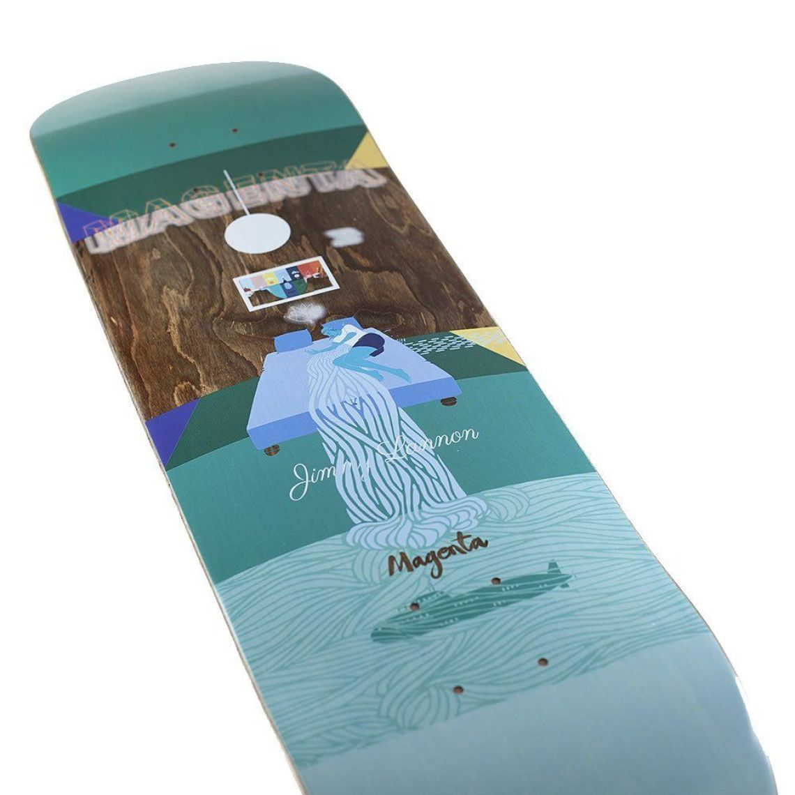 Sleep Board Series By Soy Panday For Magenta Skateboards 4